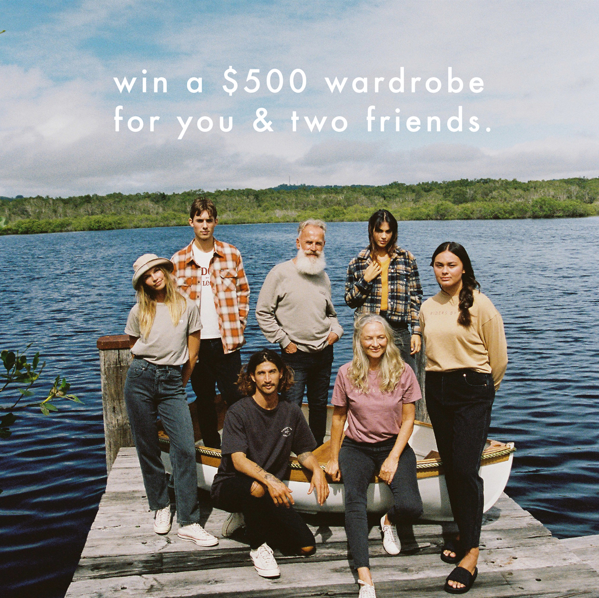 WIN A $500 RIDERS WARDROBE FOR YOU & TWO FRIENDS!